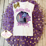 Vampirina Birthday Tutu Outfit Personalized Add name