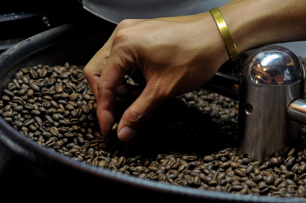Freshly roasted Pine Valley natural robusta beans by Lost Islands Center for Kape
