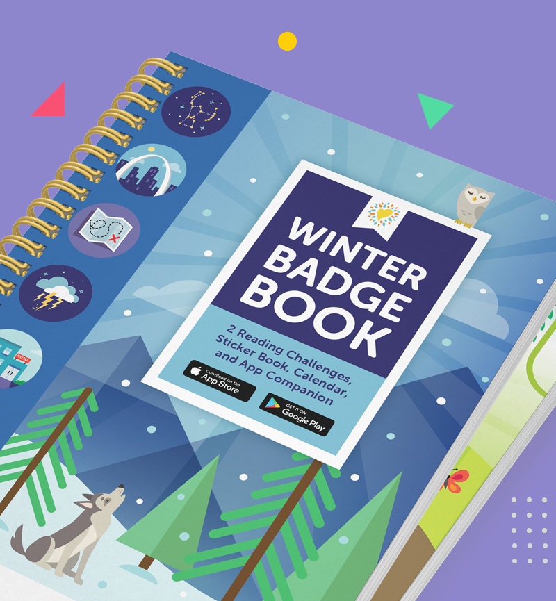 2020 Winter Reading Badge Book