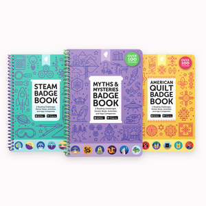3x Badge Book Wrapped Set