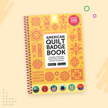 Load image into Gallery viewer, American Quilt Badge Book
