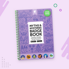 Load image into Gallery viewer, Myths and Mysteries Badge Book