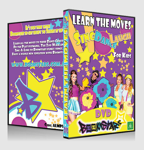 Boomstars DVD