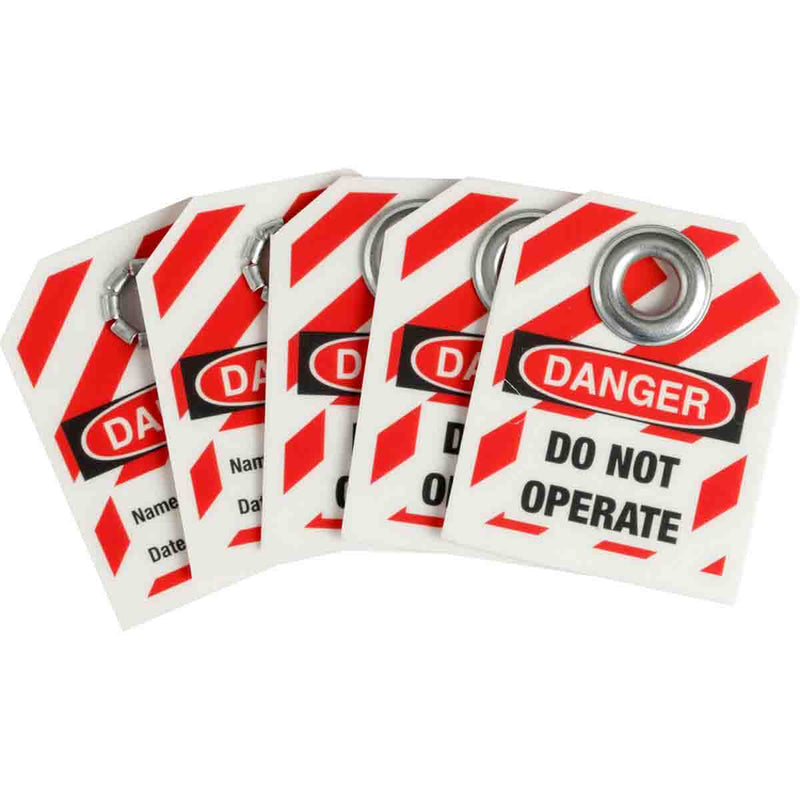 Mini Safety Lockout Tags