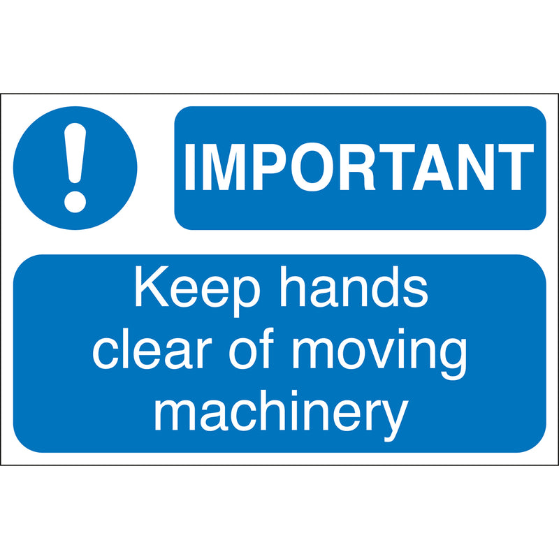 Machine Safety Labels - IMPORTANT