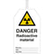 Brady Safety Tags - DANGER Radioactive material
