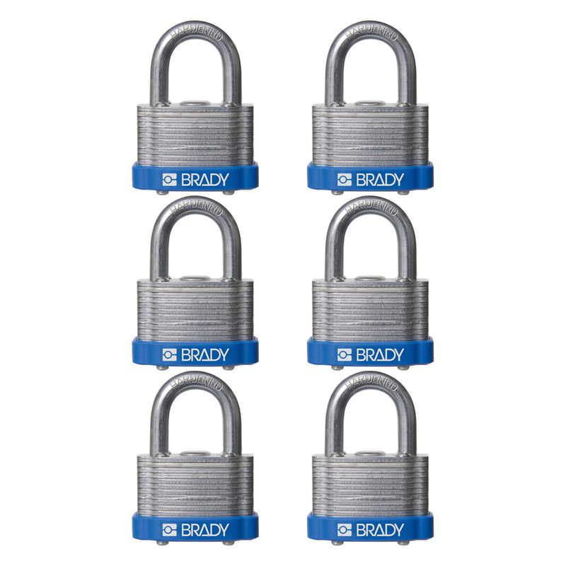 Laminated Steel Padlocks - Key retaining 41SL/40