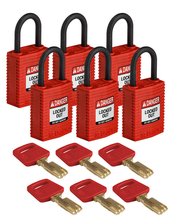 Safety Padlocks - Compact 71AS/30