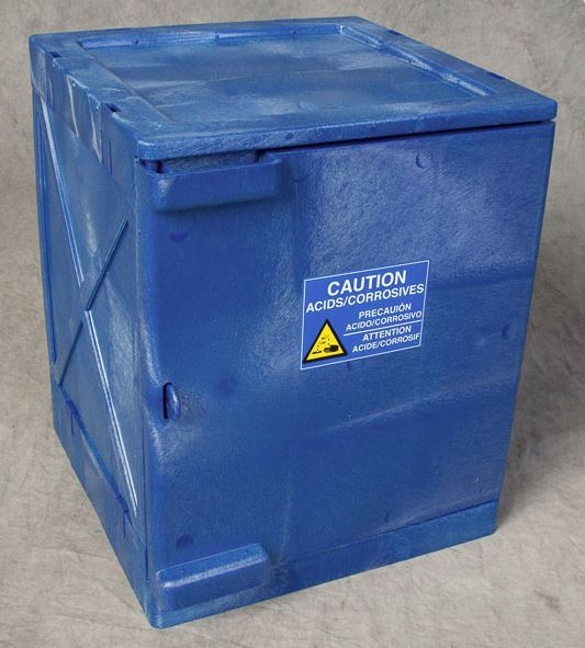 4 Gallon Modular Quik-Assembly™ Bench Top Cabinet - Blue