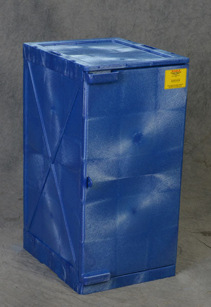 45.5L (12Gal.) Modular Quik-Assembly™ Poly Cabinet - Blue