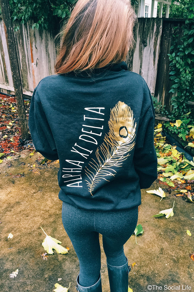 Golden Feather Quarter Zip
