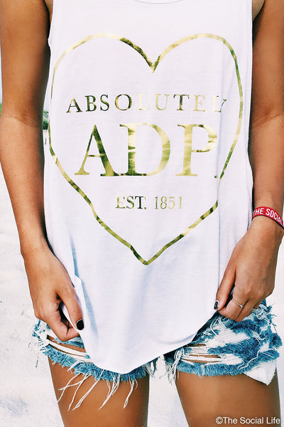 Alpha Delta Pi Absolutely ADPi Tank