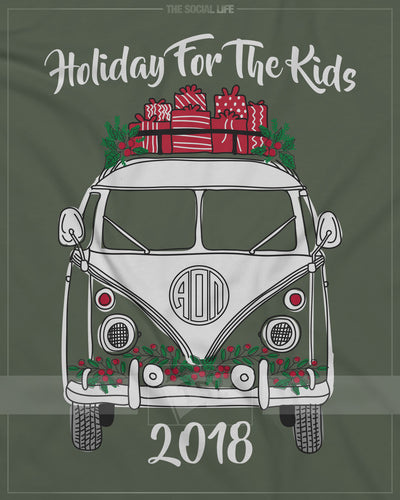 Christmas VW Bus