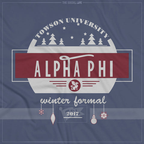 Alpha Phi Block Letters Muscle Tank – The Social Life