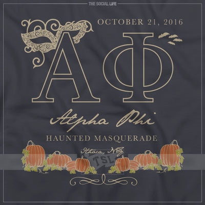 Pumpkin Masquerade Formal