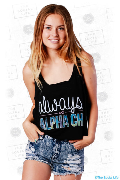Always Alpha Chi Tank