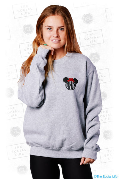 AXO Minnie Bow Sweatshirt