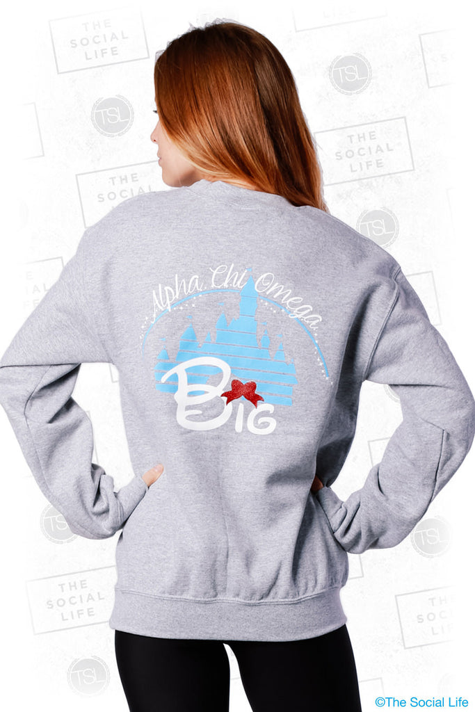 Big Sis Magic Castle Sweatshirt