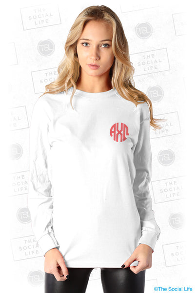 Alpha Chi Omega Mason Jar Bid Day Tee