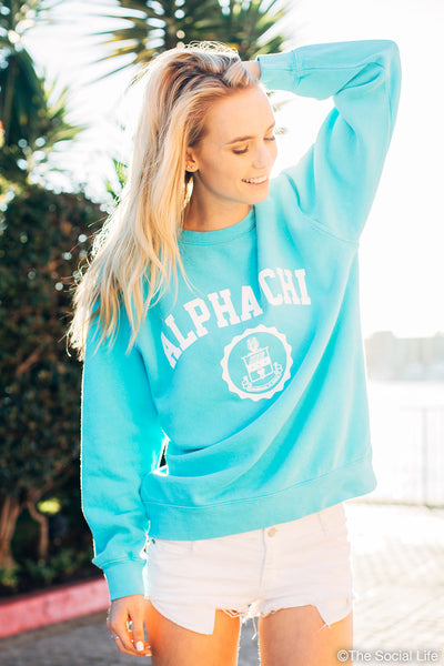 Alpha Chi Omega Resort Crewneck