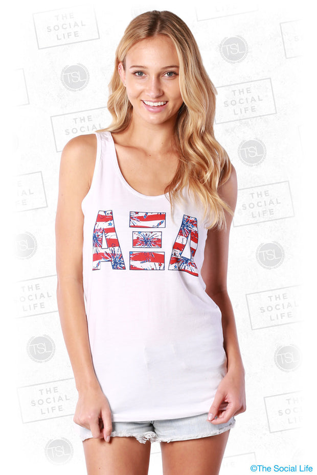 Fireworks Letters Tank