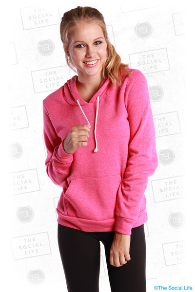 Eco-Fleece Hooded Pullover