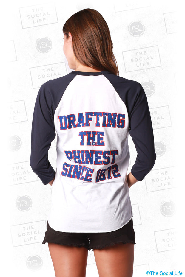 Drafting the Phinest Baseball Tee