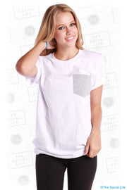 SHORT SLEEVE POCKET TEE