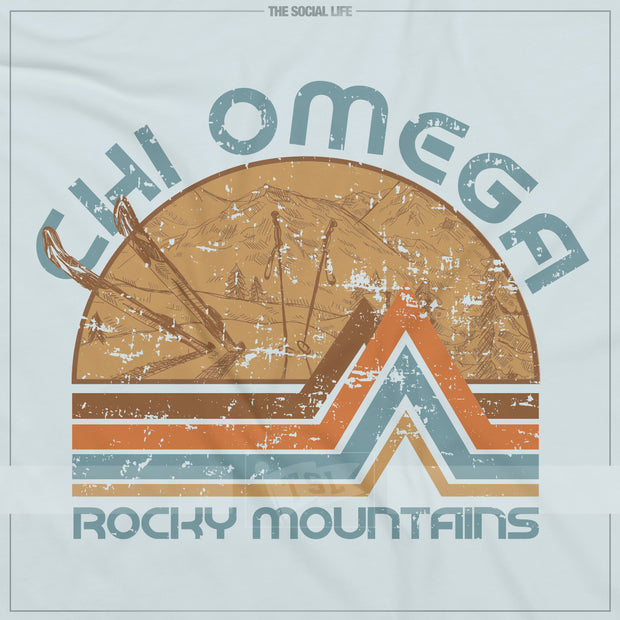 Retro Ski Mountains