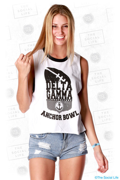 Delta Gamma Anchor Bowl Tank