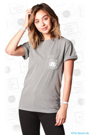 Delta Gamma Anchor Bowl Pocket Tee