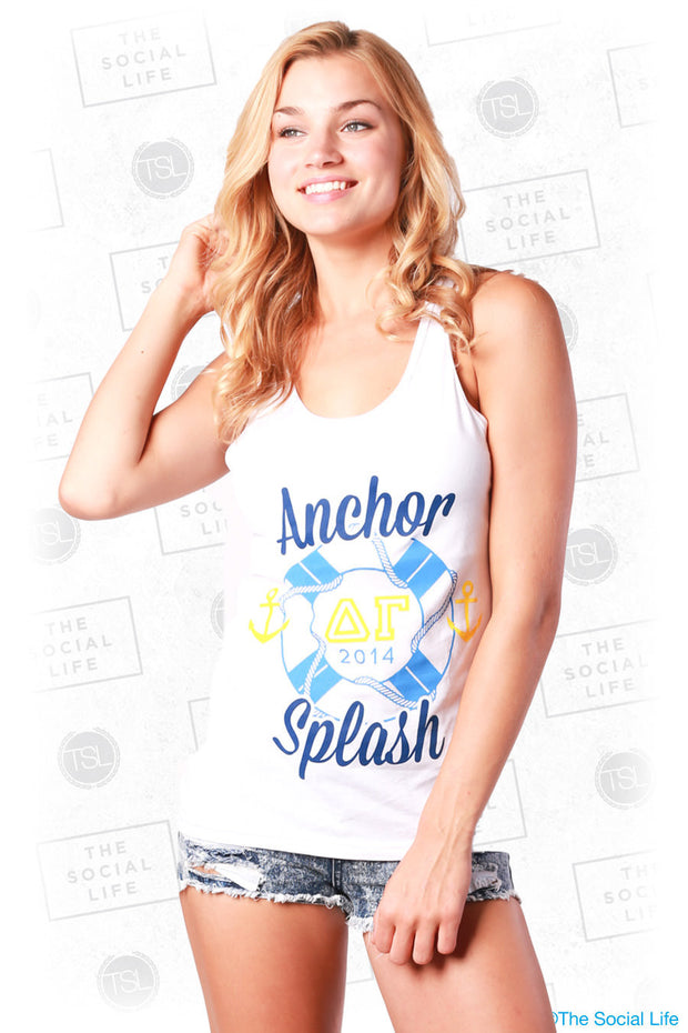 DG Anchor Splash Lifesaver Tank