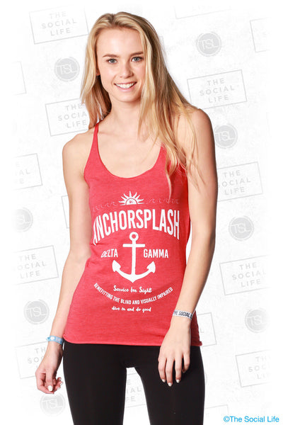 Delta Gamma Sunshine and Anchors Tank