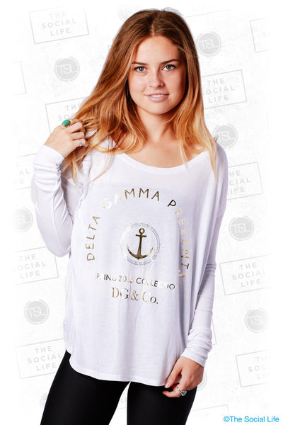 Delta Gamma And Co. Longsleeve Tee