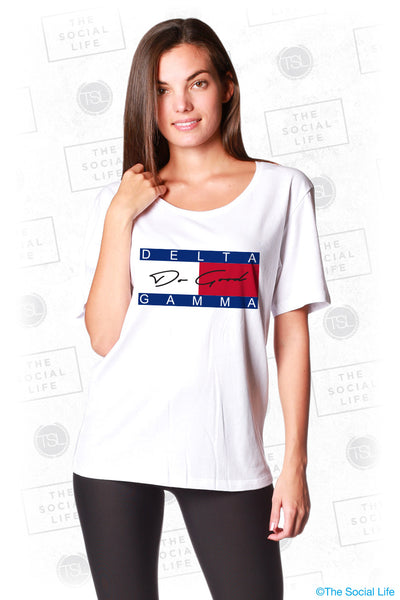 Delta Gamma Do Good Logo Tee