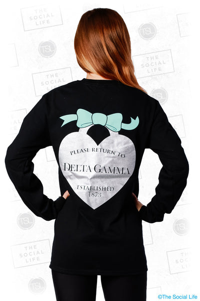 Return To DG Heart and Bow Longsleeve