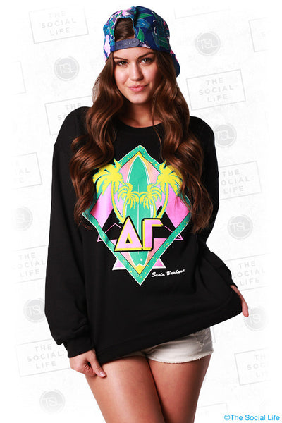 Retro Beach Sweatshirt