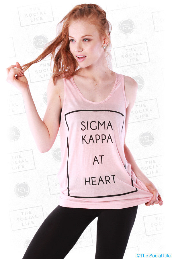 Sigma Kappa At Heart
