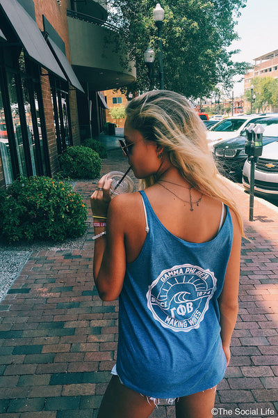 Gamma Phi Beta Making Waves Tank