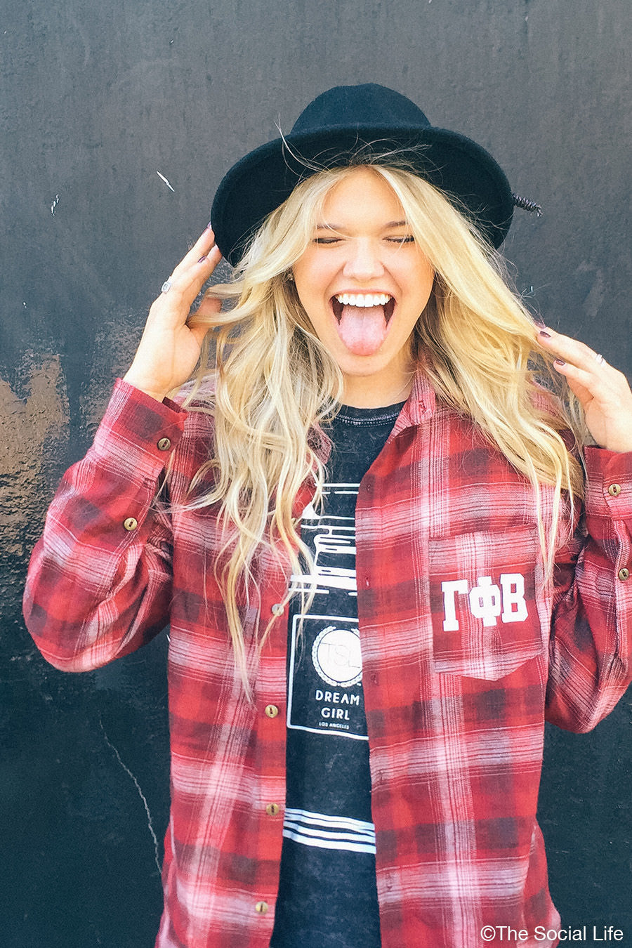 Gamma Phi Beta Boyfriend Flannel