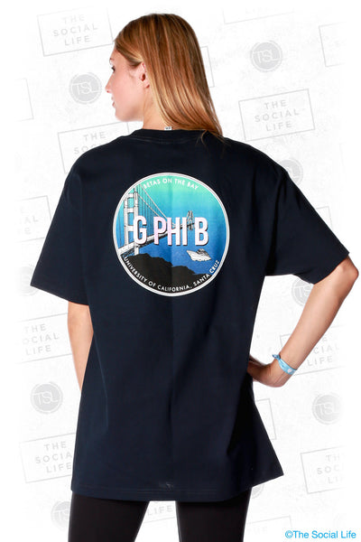 Gamma Phi Beta On The Bay Tee