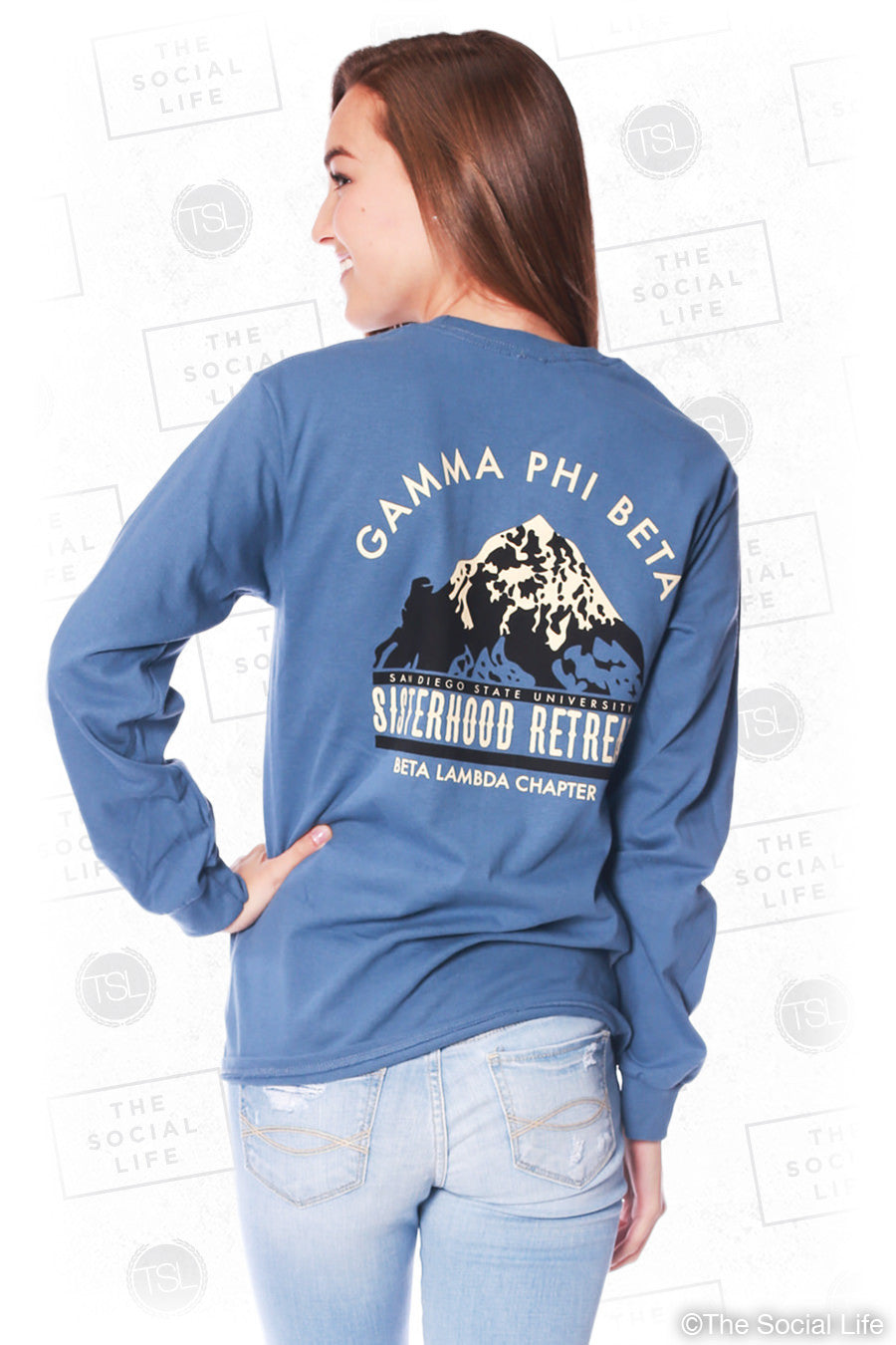 Gamma Phi Beta Mountain Retreat Longsleeve