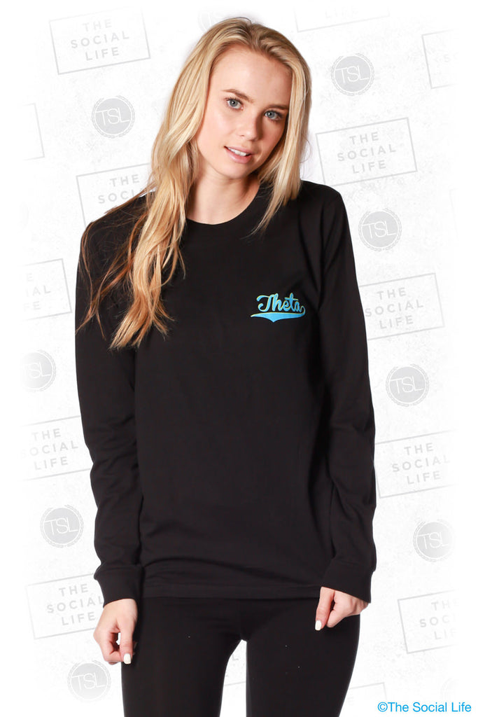 Kappa Alpha Theta Retro Dad's Weekend Longsleeve