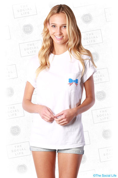 USA Bow Pocket Tee