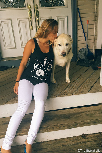 Kappa Delta Flowy Scoop Neck Tank