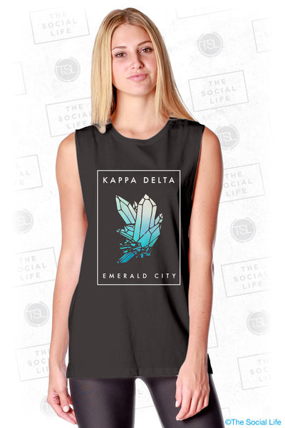 Kappa Delta Emerald City Tank