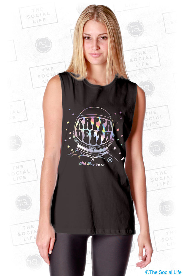 Kappa Delta Space Vision Muscle Tank