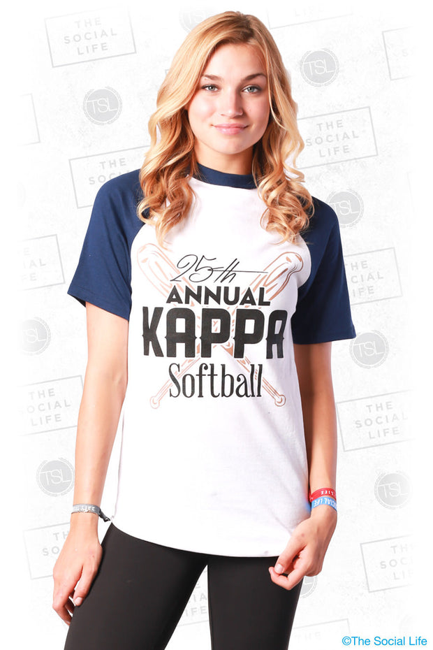 KAO Softball Ringer Tee