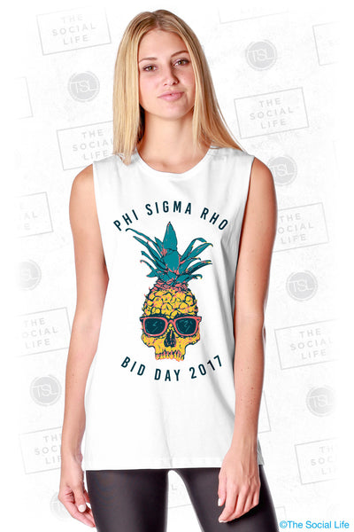 Phi Sigma Pho Cool Pineapple Muscle Tank