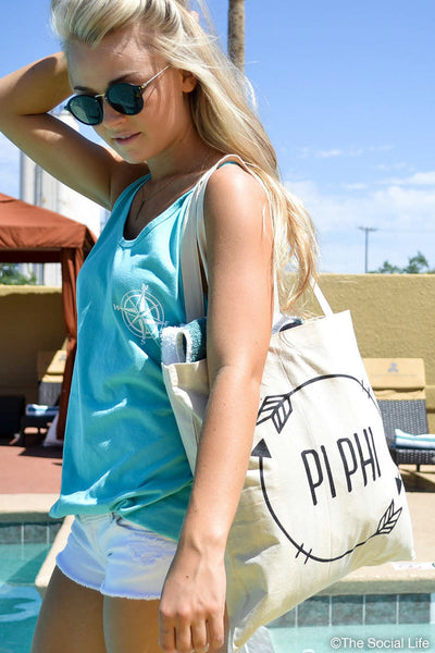 Pi Beta Phi Arrow Tote